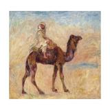 A Camel; a Dos De Chameau, 1881 Giclée-tryk af Pierre-Auguste Renoir