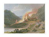 Iron Works, Coalbrook Dale, from 'Romantic and Picturesque Scenery of England and Wales', 1805 Giclee Print by Philippe De Loutherbourg