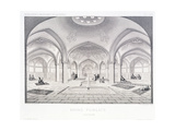 Public Baths Giclee Print by Pascal Xavier Coste
