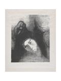 Antoine: 'Quel Est Le But De Tout Cela', 1896 Giclee Print by Odilon Redon