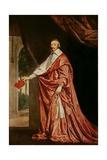 Portrait of Cardinal De Richelieu (1633-40) Giclee Print by Philippe De Champaigne