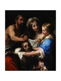 Salome with the Head of Saint John the Baptist, C.1680 Lámina giclée por Onorio Marinari