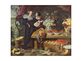 The Fruit Seller Giclee Print by Pierre Boucle
