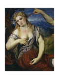 Venus Giclée-tryk af Paris Bordone