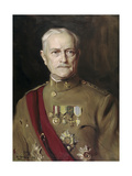 General John Pershing (1860-1948) 1933 Giclee Print by Philip Alexius De Laszlo