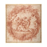 The Design of the Tazza Farnese Giclee Print by Peter Paul Rubens
