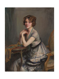 Portrait of Winnie Melville, Mrs, 1920 Giclee Print by Philip Alexius De Laszlo