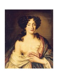 Portrait of Marie Mancini Giclee Print by Pierre Mignard