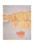 Buoy, Port of St. Tropez, 1894 Gicléetryck av Paul Signac