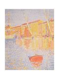 Buoy, Port of St. Tropez, 1894 Gicleetryck av Paul Signac