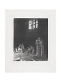 Dans L'Ombre Des Gens Pleurant Et Prient..., 1896 Giclee Print by Odilon Redon