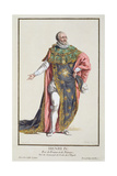 Henri IV (1553-1610) King of France Giclee Print by Pierre Duflos