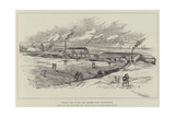 General View of the New Primrose Mine, Johannesburg Giclee Print by Melton Prior