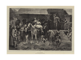 Fair Time Giclee Print by Paul Friedrich Meyerheim