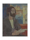 Portrait of Emile Bernard in Florence, 1893 Gicléetryck av Paul Serusier