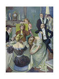 Afternoon Tea Giclee Print by Oscar Bluhm