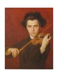 Jan Kubelik (1880-1940), 1903 Giclee Print by Philip Alexius De Laszlo