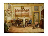 Concert Party at the Neopolitan Residence of Kenneth Mackenzie (1744-81) 1st Earl of Seaforth Giclee Print by Pietro Fabris