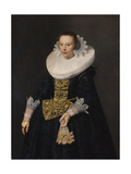 Portrait of a Young Woman, 1632 Giclee Print by Nicolaes Eliasz