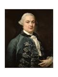 James Bruce of Kinnaird, 1762 Giclée-tryk af Pompeo Girolamo Batoni