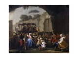 Celebrations in Honor of the Madonna of the Arch, 1778 Giclee Print by Pietro Fabris