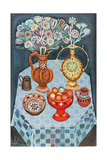 Still Life with Red Apples, 1967 Giclee Print by Radi Nedelchev