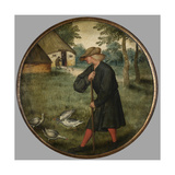 Who Knows Why Geese Walk Barefoot, C.1594 Giclee Print by Pieter Brueghel the Younger