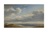 Study of Clouds over the Roman Campagna C.1782-85 Giclee Print by Pierre Henri de Valenciennes