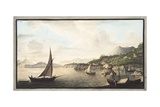 View of a Part of the Island of Ischia Called Lacco Giclee Print by Pietro Fabris