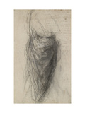 Study for the Drapery of a Man in Back View Giclee Print by  Raphael