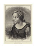 The Madonna Giclee Print by  Raphael