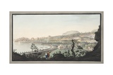 View of Puzzoli Taken from the Spot Represented in Plate Xiii Giclee Print by Pietro Fabris
