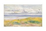 On the Cliffs; Sur La Falaise, 1880 Giclee Print by Pierre-Auguste Renoir