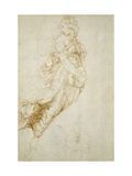 Study for the Figure of Melpomene Giclee Print by  Raphael