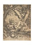 Vertumnus and Pomona, 1605 Giclee Print by Pieter Jansz Saenredam
