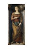 St. Helena, C.1505-06 Giclee Print by Pietro Perugino