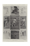 The First Test Match Between England and Australia at Edgbaston Giclee Print by Ralph Cleaver