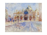 The Piazza San Marco, Venice, 1881 Giclee Print by Pierre-Auguste Renoir