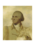 Sketch for a Portrait of George Washington Giclee Print by Rembrandt Peale