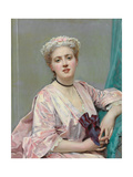 Beauty in Pink Giclee Print by Raimundo de Madrazo Y Garetta