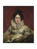 Miss Barnes, 1823 Giclee Print by R. Brown