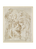 Group of Musicians Giclee Print by  Raphael