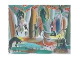 Jungle, 1979 Giclee Print by Radi Nedelchev
