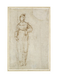 St Catherine Giclee Print by  Raphael