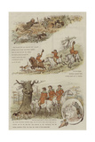 The Legend of the Laughing Oak Giclee Print by Randolph Caldecott