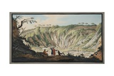 View Taken from the Bottom of the Crater of Monte Nuovo Giclee Print by Pietro Fabris