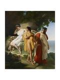 Telemachus and Eucharis, 1824 Giclee Print by Raymond Quinsac Monvoisin