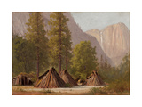 Yosemite Indian Village, 1874 Giclee Print by Raymond Dabb Yelland