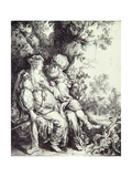 Judah and Tamar Giclee Print by Pieter Lastman