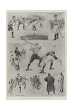 Hockey at Richmond, the Match Between England and Ireland on 11 March Giclee Print by Ralph Cleaver
